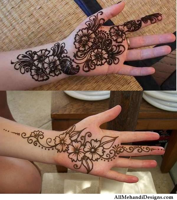 Mehndi Designs Step By Step For Hands : Easy mehndi designs for hands step by pixshark