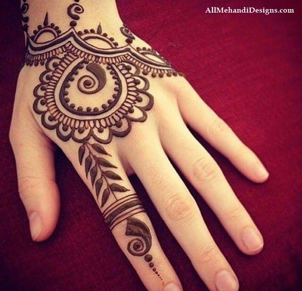 Simple Mehndi Designs For Hands 2017: 1000+ Cute Mehndi (Henna) Designs for Kids for Small Babyrh:allmehandidesigns.com,Design