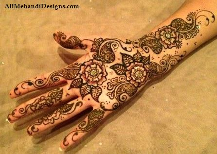 Mehndi Hands Designs : 1000 latest arabic mehndi designs images step by