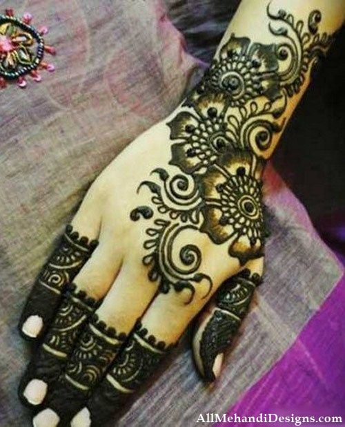 Mehndi Designs New Simple : Latest arabic mehndi designs images step by