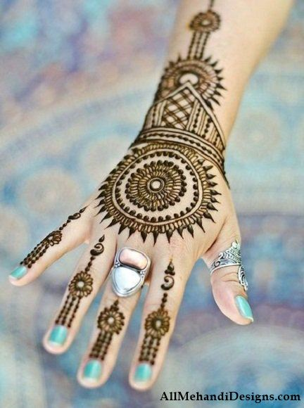 New Mehndi Patterns : Latest arabic mehndi designs images step by
