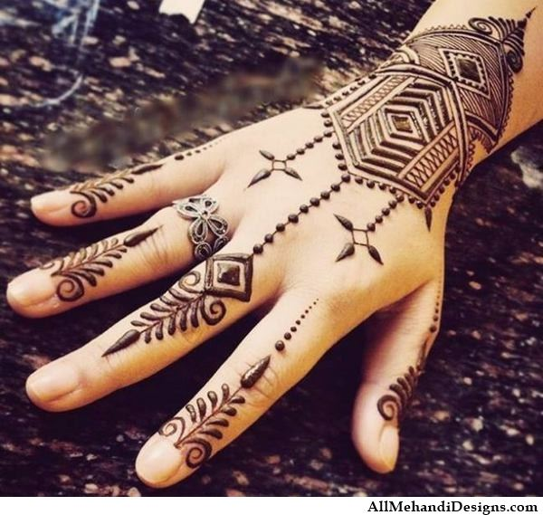 1000 Simple Mehndi Designs Easy Mehandi Images
