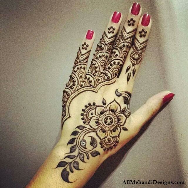 Simple Mehndi Designs For Hands 2017: 1000+ Simple Mehndi Designs - Easy Mehandi Imagesrh:allmehandidesigns.com,Design