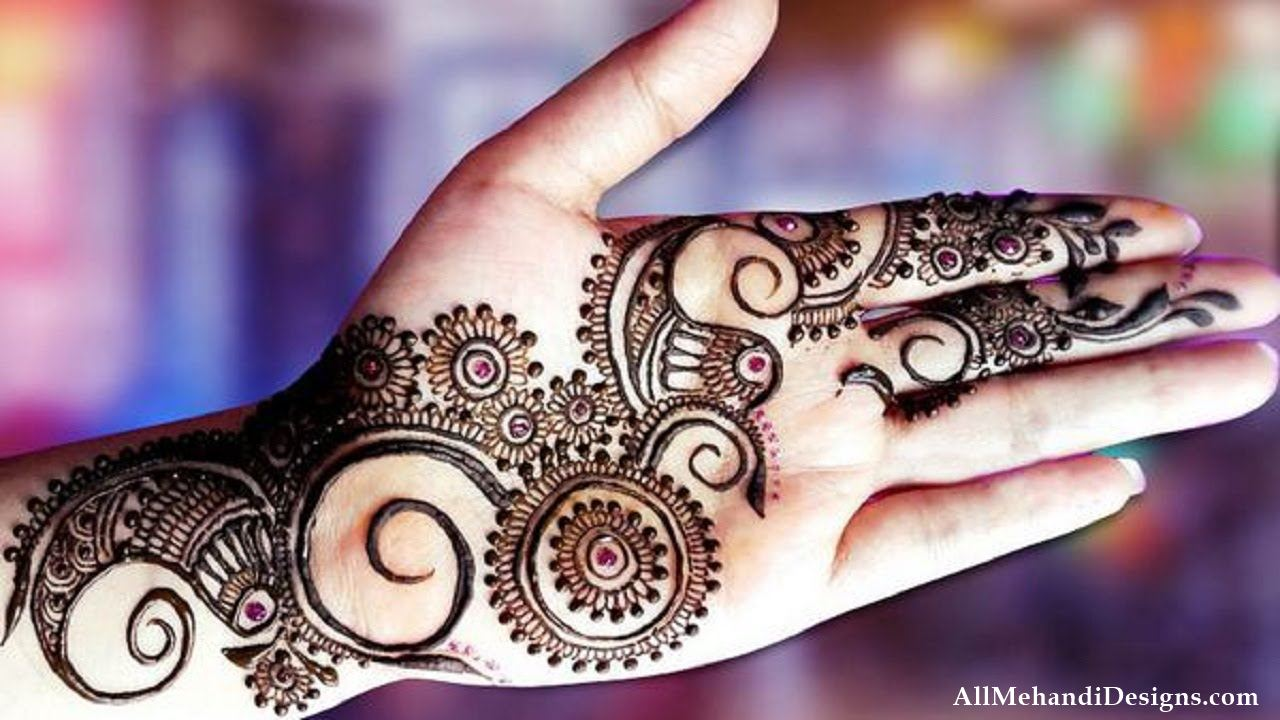 Easy Front Hand Mehndi Pattern. 1000  Easy Mehndi Design   Simple Mehandi Desings Images