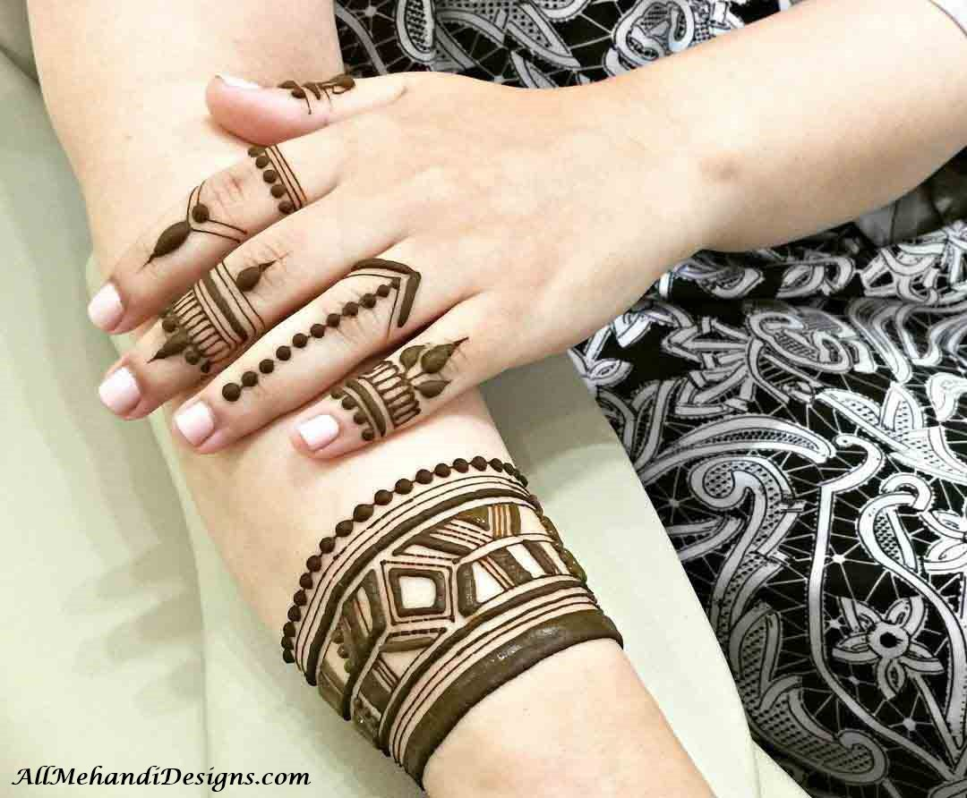 1000 Easy Finger Mehndi Designs Henna Finger Ideas