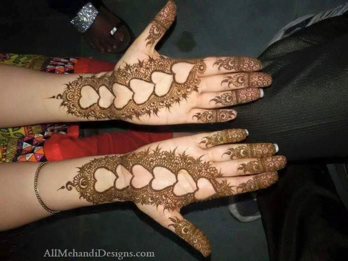 Front Hand Easy Eid Henna Designs Images