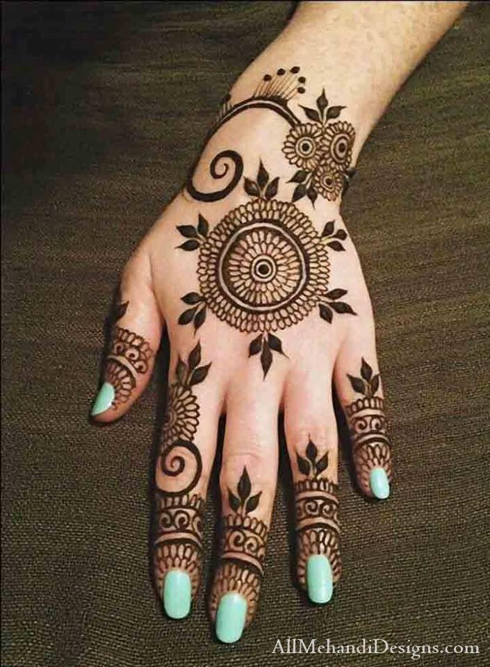 Arabic Eid Henna Mehandi Designs, henne Eid Mehndi Pictures