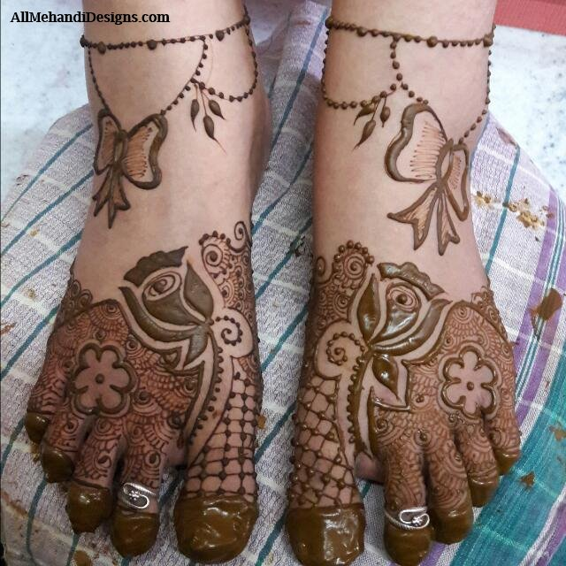 Bridal Mehndi Ki Design : Bridal mehndi ki design makedes