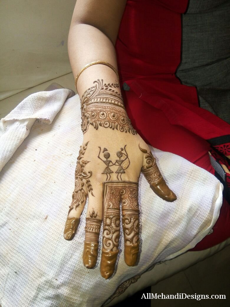Mehndi Right Hand : Indian mehndi designs for hands henna patterns