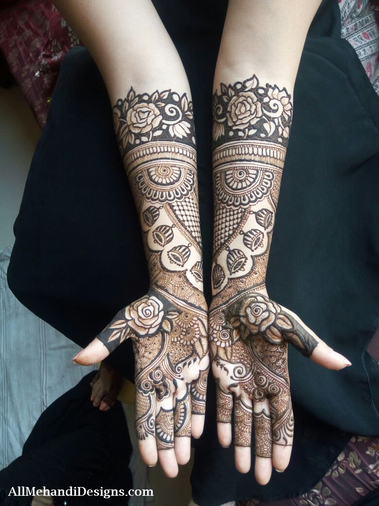 Mehndi Designs Karachi : Pakistani mehndi designs for wedding photos pixshark