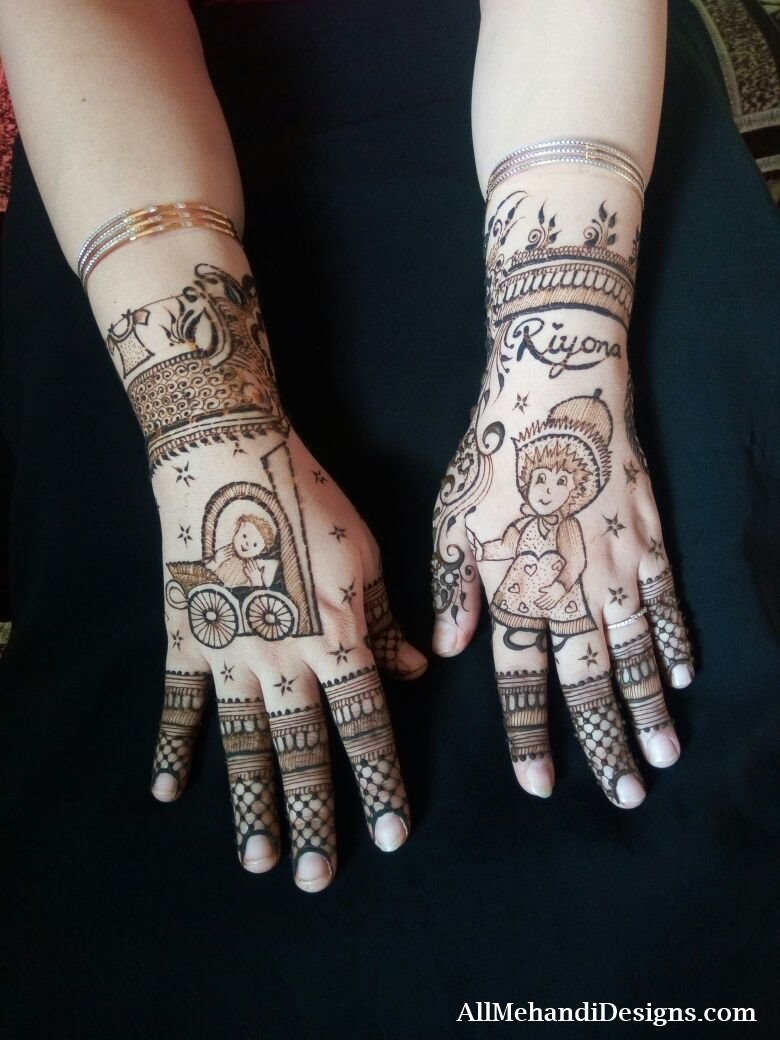 Latest Pakistani mehndi designs – Dulhan pakistani henna designs advise
