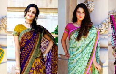 10 Tips to Wearing a Saree in a Right Way.