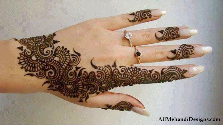 arabic modern mehndi design image