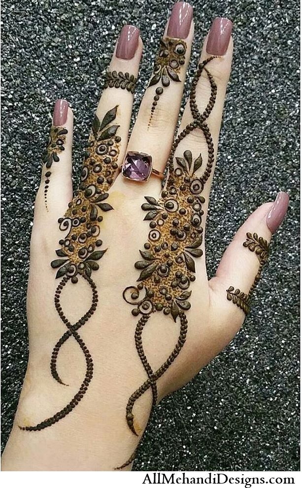 1000+ Beautiful Eid Mehndi Designs - Photos { Eid Special